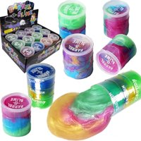 Product Image Slime 2 - Pcs. Set LARGE Rainbow Color Barrel of Slime Big Size Slime Mud