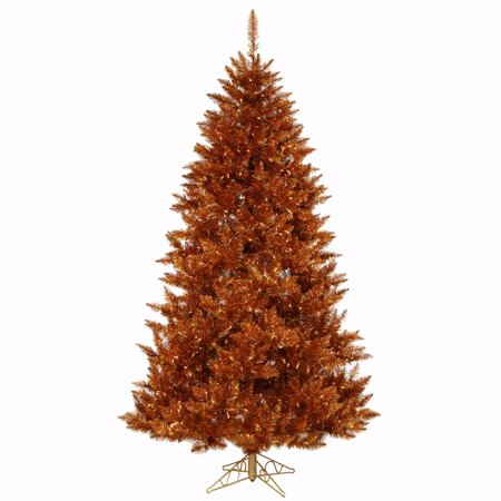 vickerman 18489 45 x 36 copper spruce 250 clearamber lights christmas