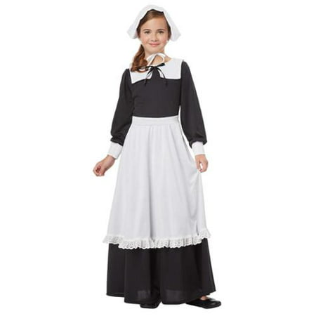 Pilgrim Girl - Pilgrim Costume Ideas