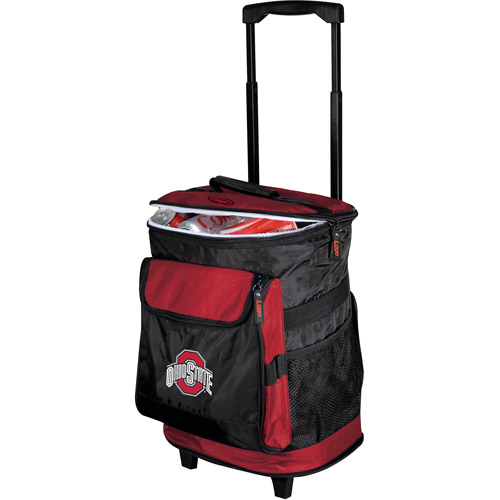 "Logo Chair NCAA Ohio State 15"" x 16"" Rolling Cooler"
