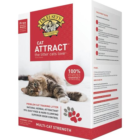 Dr Elsey Cat Attract Cat Litter - Dr. Elsey's Precious Cat Cat Attract Cat Litter, 20-lb