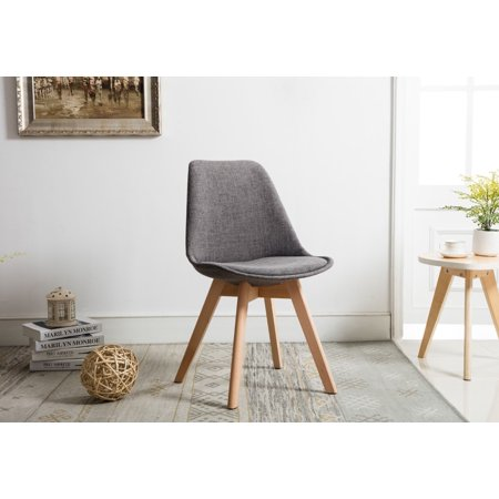 Porthos Home Dining Chair Set Of 2 Modern Room Chairs With Stylish Beech Wood Legs For Practical Sy Support Upholstered Side