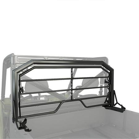 Polaris New OEM Lock & Ride Black Tip Down Headache Rack, Ranger, 2881531 ()