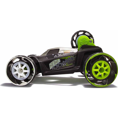 Air Hogs Hyperactives 5 Remote-Controlled 5-Wheeled 2.4GHz Stunt Vehicle, Green by Spin Master Toys