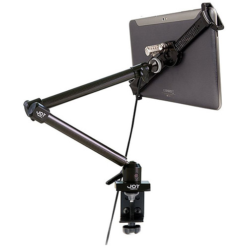 "The Joy Factory Lockdown Mnu103cl Clamp Mount For Tablet Pc - 7"" To 10.1"" Screen Support - Carbon Fiber (mnu103cl)"