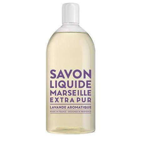 Compagnie de Provence Aromatic Lavender Liquid Marseille Soap Refill