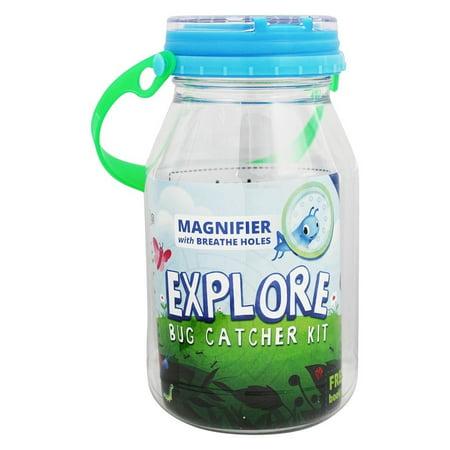reCAP - Explore Kids Mason Jar Bug Catcher Kit Blue - 32 (Kids Bug Jar)