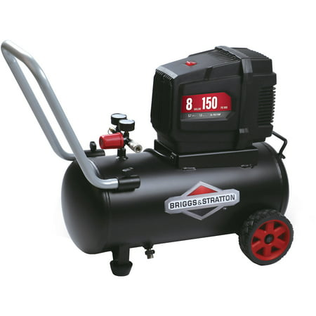 Briggs & Stratton 8 Gallon Hotdog Oil-free Air (Best Tyre Air Compressor)