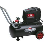 Briggs & Stratton 8 Gallon Hotdog Oil-free Air Compressor