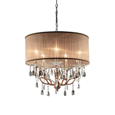 25 in. Rosie Crystal Ceiling Lamp - image 1 of 1