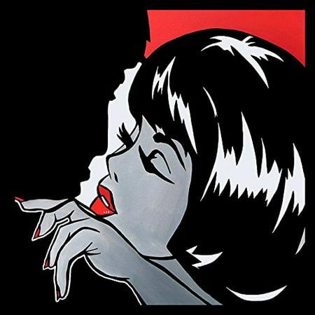 FRAMED Misfits by FidoStudio 24X24 Art Print Poster Pop Art Comic Book Art Comic Con Rockabilly People Love Sin City - Rockabilly Room Decor