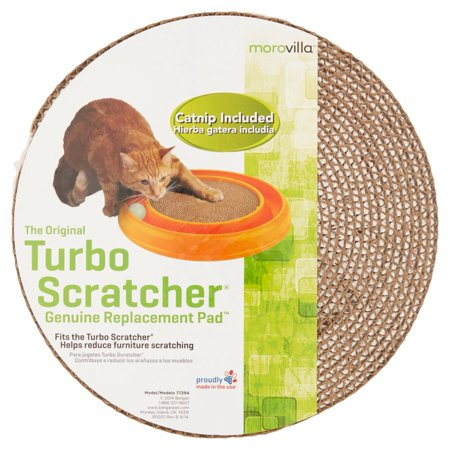 (2 Pack) Morovilla Turbo Scratcher Replacement Pad