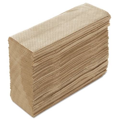 Paper Source 1-Ply Premium Multifold Towel, Natural, 4000 Towels (PSCST197)