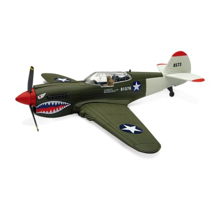 Model Plane (Sky Pilot Classic Plane Model Kit (1:48 Scale), P-40 Warhawk)