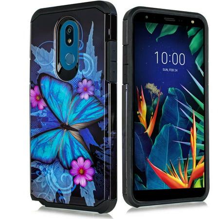 for LG K40/ LG K12 Plus/ LG X4 2019 Case Phone Case Shock Proof Edges Hybrid Hard Back Slim Bumper