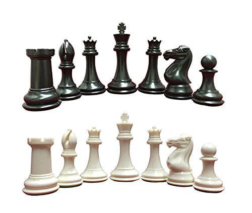 "Premium Vinyl Chess Board 2.25/"" Royal /& Buff"