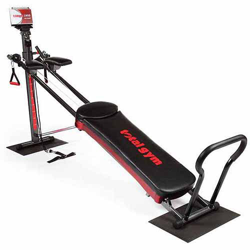 Total Gym 1900 Total Home Gym with Workout DVDs