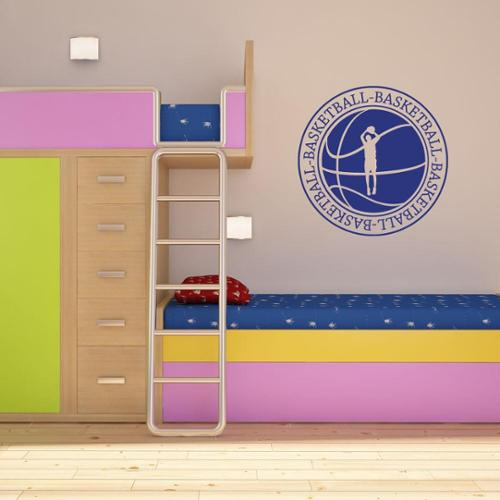 Style and Apply Basketball II Sport Wall Decal