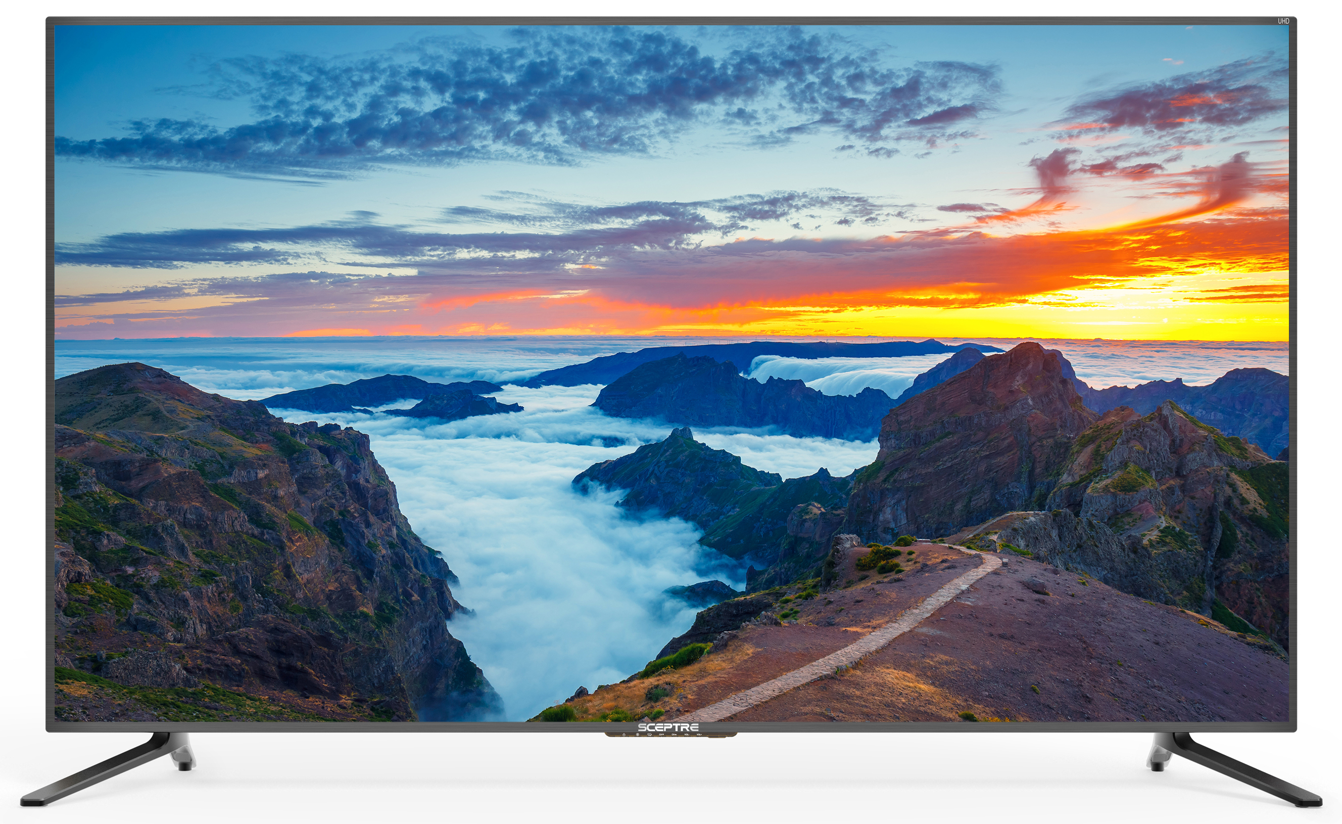 "Click here to buy Sceptre 65"" Class 4K (2160P) LED TV (U650CV-U) by Sceptre."