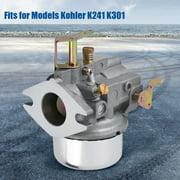 ANGGREK Carburetor for Kohler K241 K301 Cast Iron Engine Motor Cadet Rebuild Repair Kit,Carburetor,Carburetor for Kohler K241 K301