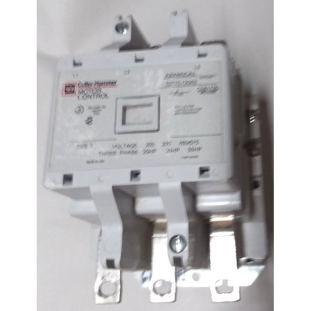 C-H A200M3CAC 90A 110vcoil 50HP 3 600V open motor starter relay contactor