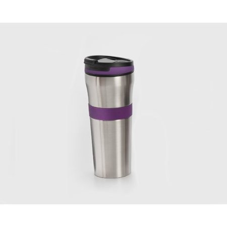 Cook Pro Double Walled Stainless Steel Coffee Tumbler with Silicone