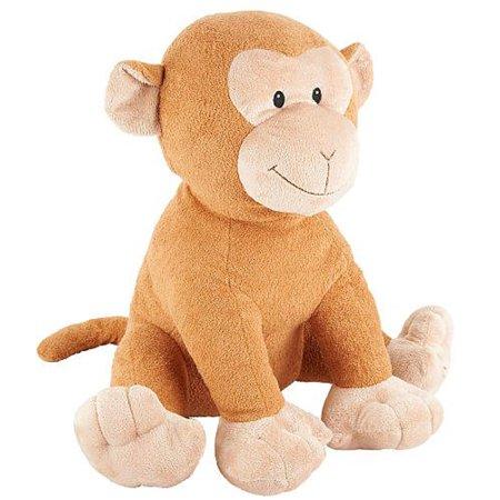 FAO Schwarz 17 inch Baby Safari Monkey - Tan (Schwarz Elite 4)