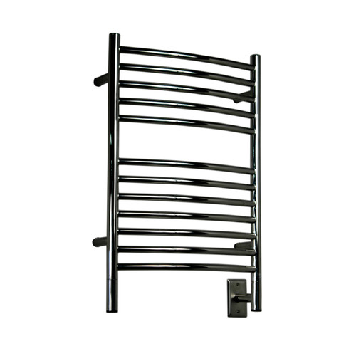 Amba Jeeves Wall Mount Electric E Curved Towel Warmer