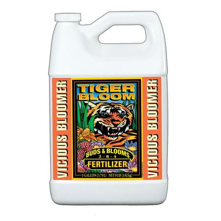 FoxFarm Tiger Bloom Liquid Concentrate Plant Fertilizer, 1 Gallon |
