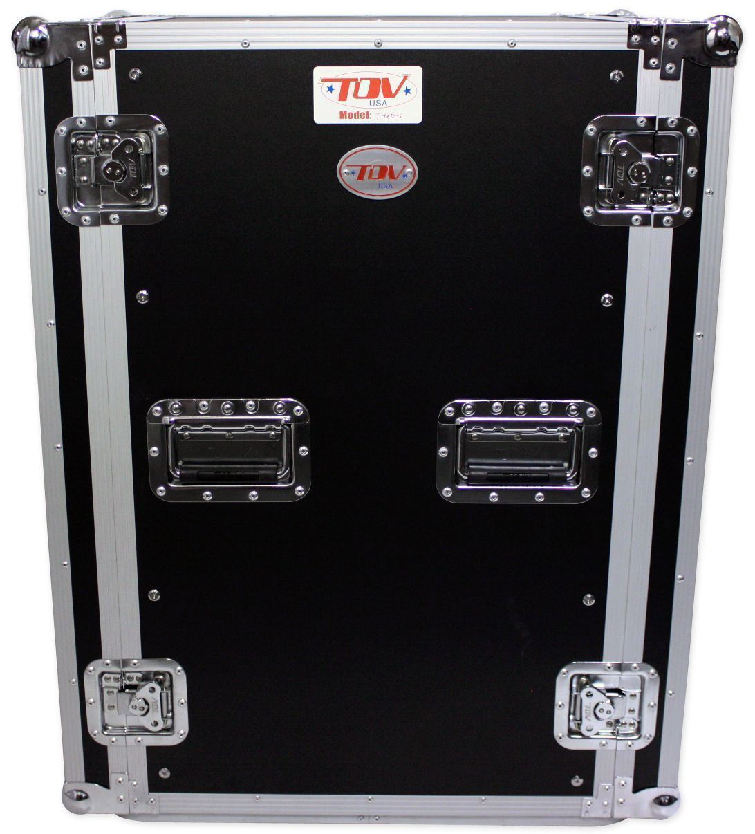 Pro X TOV T-18RSS 18U Space Vertical DJ Amp Rack Flight Case 3//8 ATA300 w//Wheels