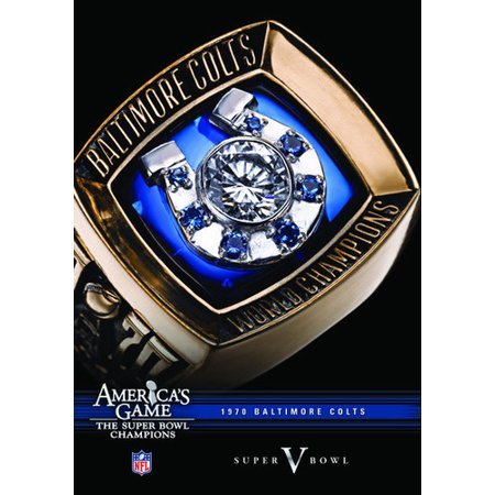NFL America's Game: Baltimore Colts Super Bowl V (DVD) - Super Bowl Team Colors