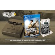 Playstation 4 Sniper Elite 3 Collector's Edition Limited Edition Ammo Tin Box