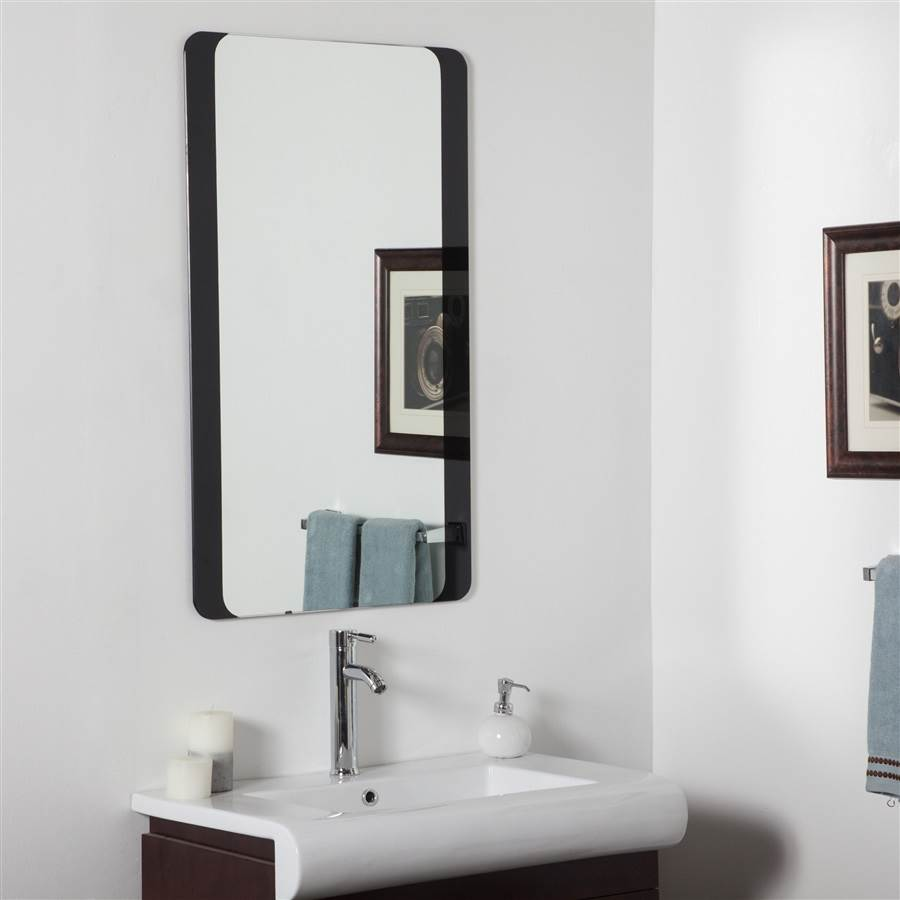 Large Bathroom Mirror Walmart Com Walmart Com