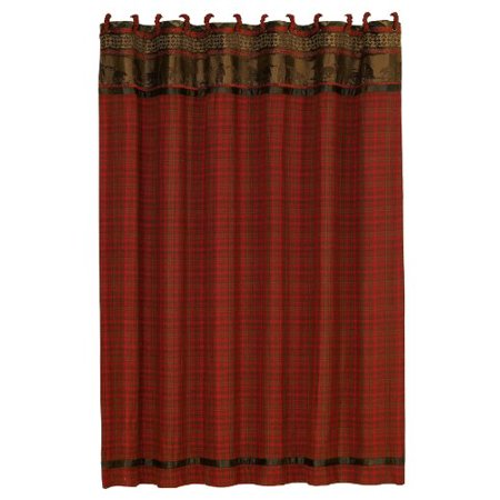 HiEnd Accents Cascade Lodge Shower Curtain - image 1 of 1