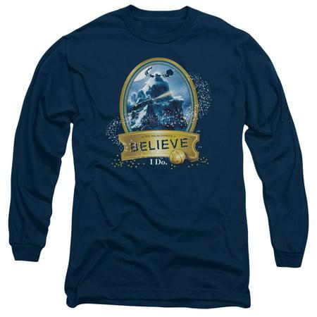 Polar Express - True Believer - Long Sleeve Shirt - Medium