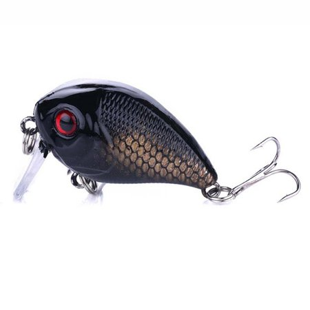 1 pcs 45mm 7g Crankbait Fishing Lure Artificial Hard Crank Bait Bass Fishing Wobblers Japan Topwater Minnow Fish Lures thumbnail