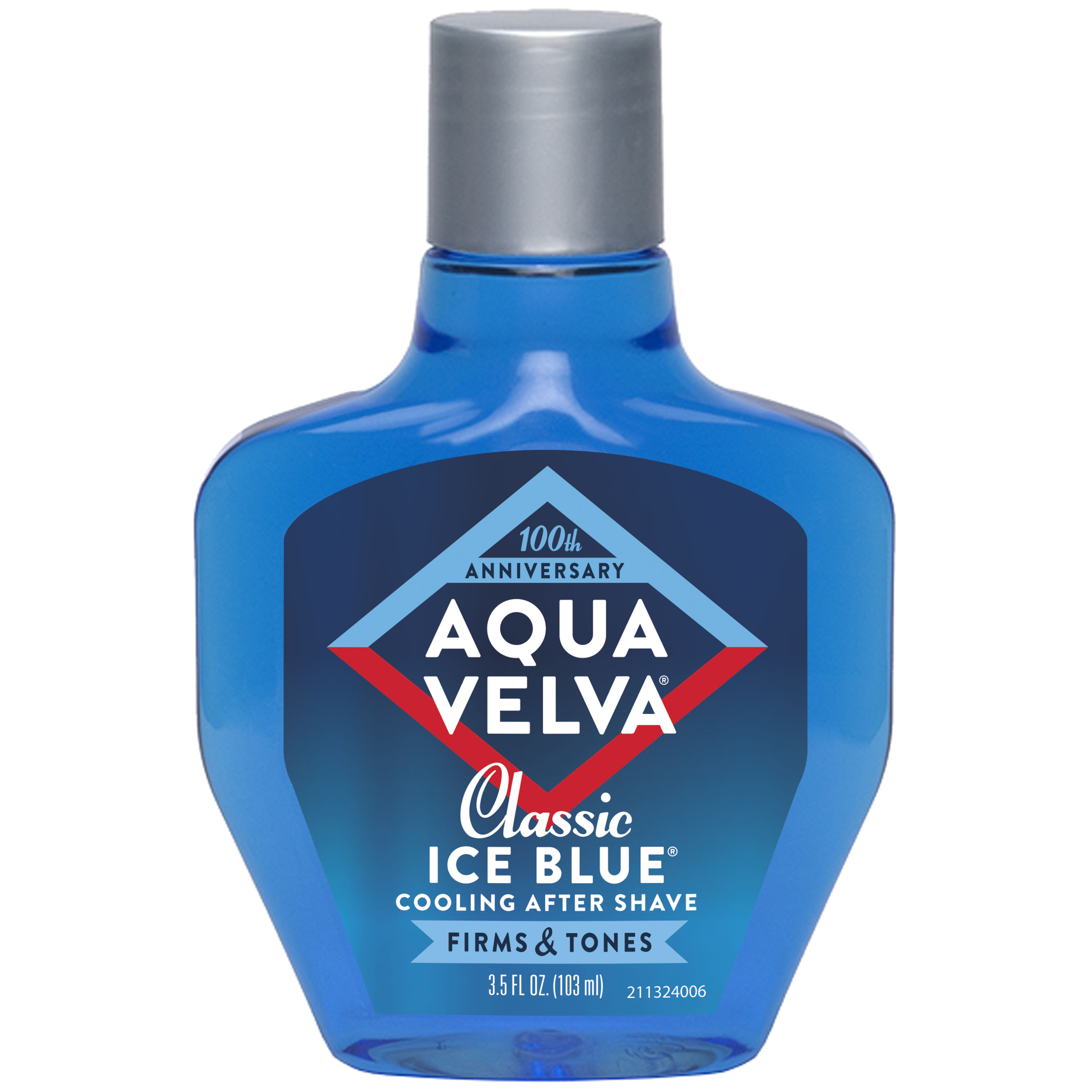 Aqua Velva After Shave, Classic Ice Blue Scent that Cools, Firms and Tones Skin, 3.5 Fluid Ounce Bottle