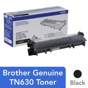 Brother Genuine Standard Yield Toner Cartridge, TN630, Replacement Black Toner, Page Yield Up To 1,200 Pages