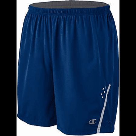 Champion Men's Marathon Shorts with Liner, Awesome Blue/Silverstone - L ()