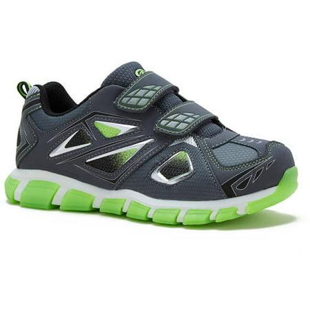 93d869683 Athletic Works - Boy's Two-Strap Athletic Shoe - Walmart.com
