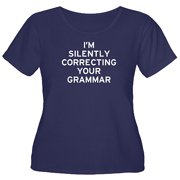 Women's Plus-Size Correcting Your Grammar T-Shirt
