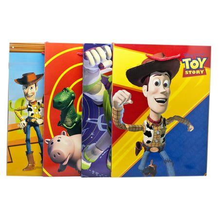 Disney Pixar's Toy Story Assorted Color/Character Medium Size Gift Bags (3pc) ()