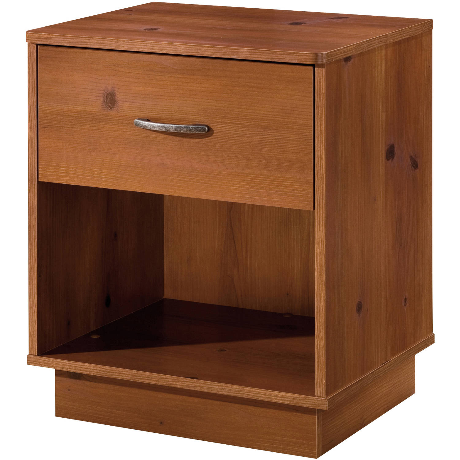 South Shore Logik 1-Drawer Nightstand, Multiple Finishes