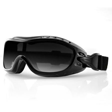 Bobster Night Hawk Otg Black Frame Anti Fog Goggles