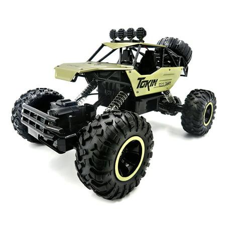 Flytec 6026 1/12 2.4G Alloy Body Shell Rock Crawler RC Buggy Car