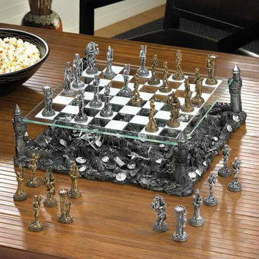Medieval Kingdom Chess Set by Dragon Crest