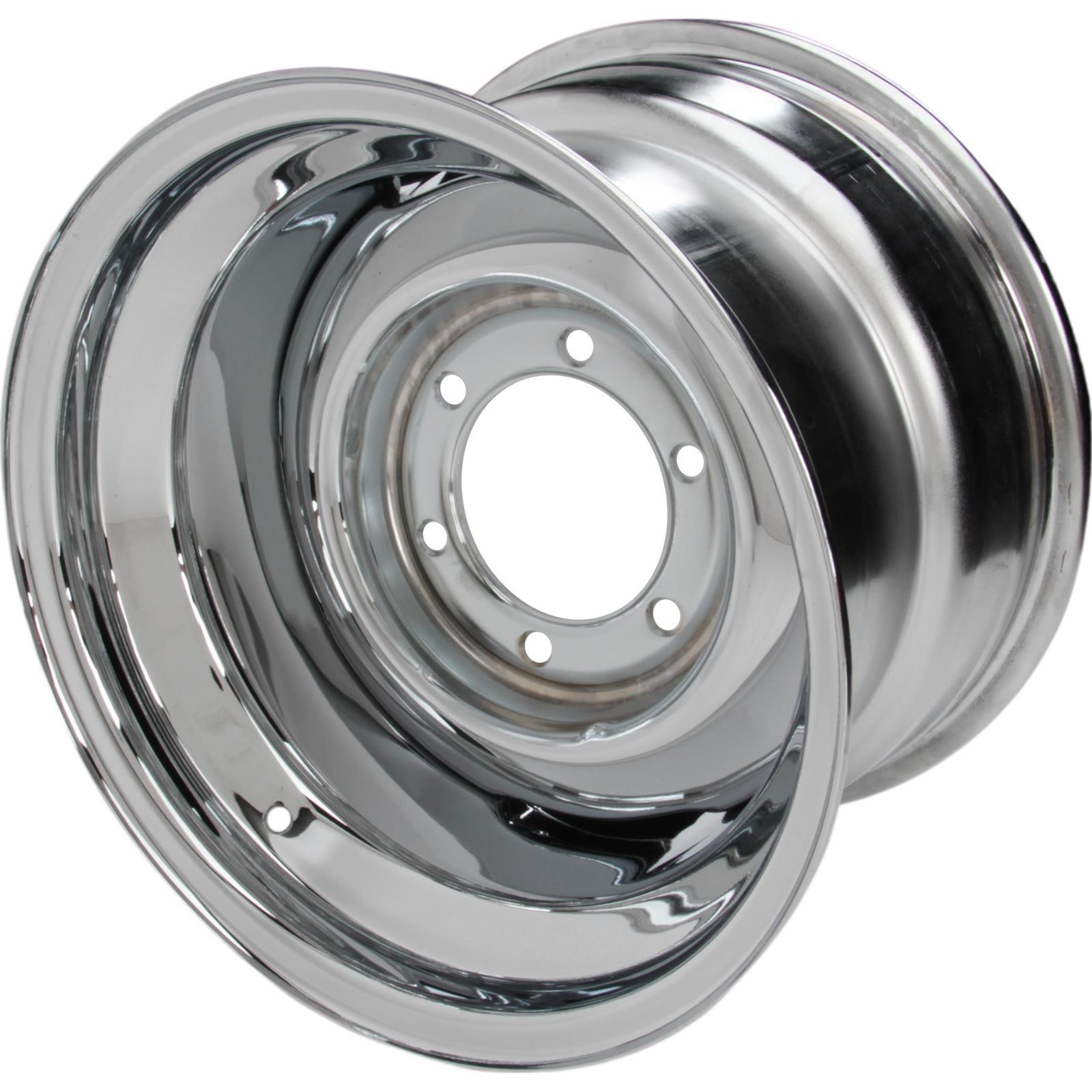 Speedway Smoothie 15x10  Steel Wheel, 6 on 5.5, 4.5 BS