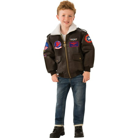 Top Gun Childrens Bomber Jacket (Bomber Jacket Costume)