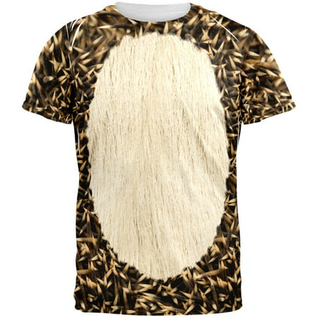 Halloween Hedgehog Costume All Over Adult T-Shirt](Hedgehog Suit)