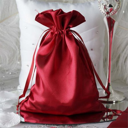 - BalsaCircle 12 pcs 6x9 inch Satin Favor Bags - Wedding Party Favors Jewelry Pouch Candy Gift Small Bags